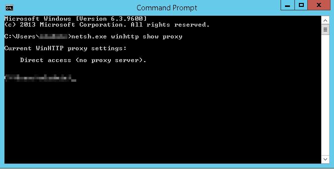Proxy CMD